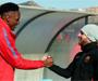 Йерри Мина посетил тренировку команды и познакомился с игроками (видео)